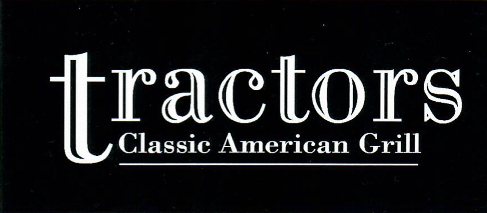 Tractors Classic American Grill