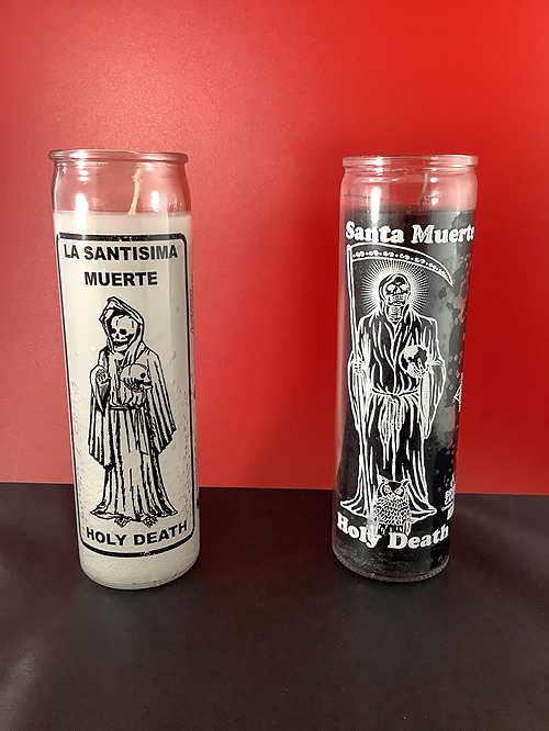 Candle Santa Muerte