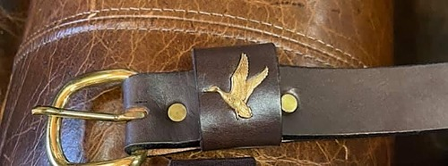 Geese Leather Belt