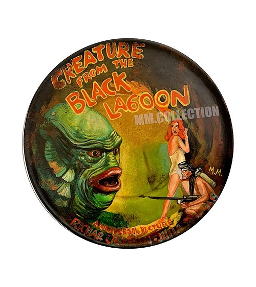 """""""Creature From The Black Lagoon"""" Tin sign"""