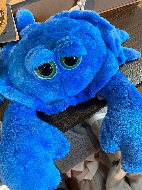 Stuffed Animal Blue Crab