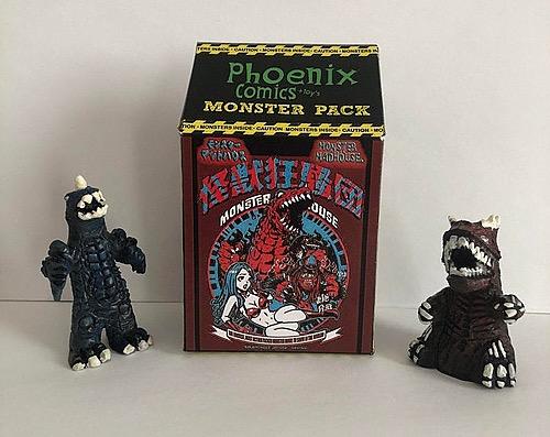 Monster Mad House mini Monster 2pack