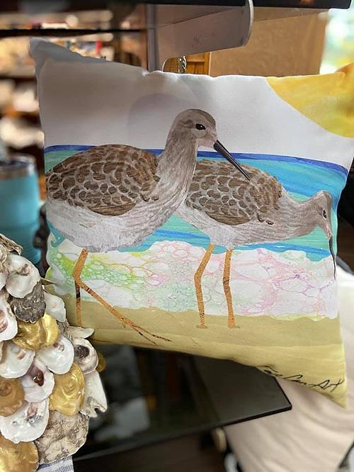 Seagulls Pillow