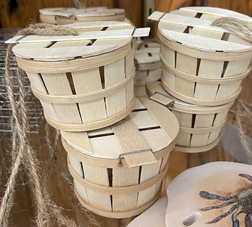 Crab Basket Ornament