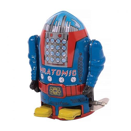 Mr. Atomic Wind-Up Robot