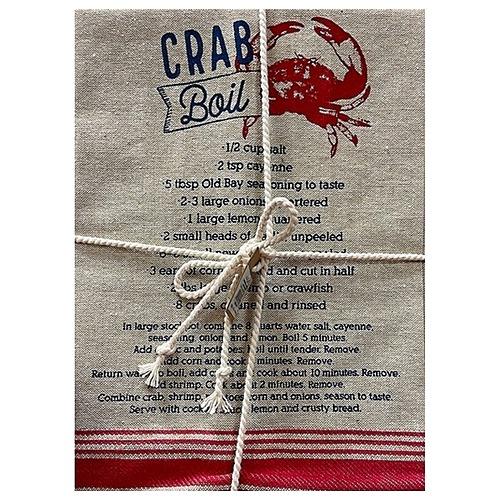 Crab Boil Towel