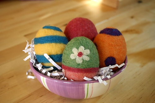 Virtual - Needle Felted Easter Egg Class - 4/9 6-8 PM (MDT)