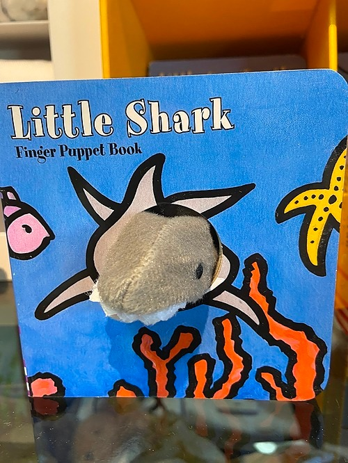 Shark Puppet Book