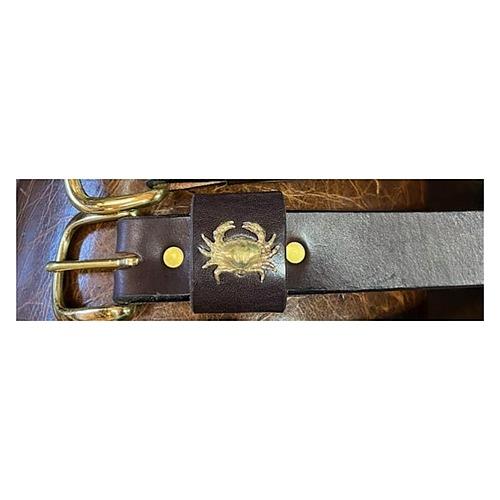Crab Leather Belt