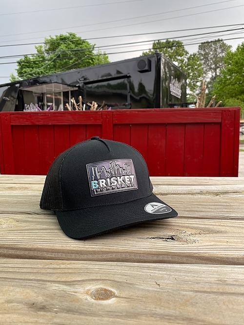 Black front / black back Cap