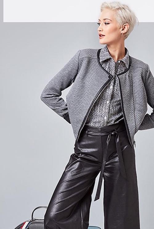 Lizzie Charcoal Jacket