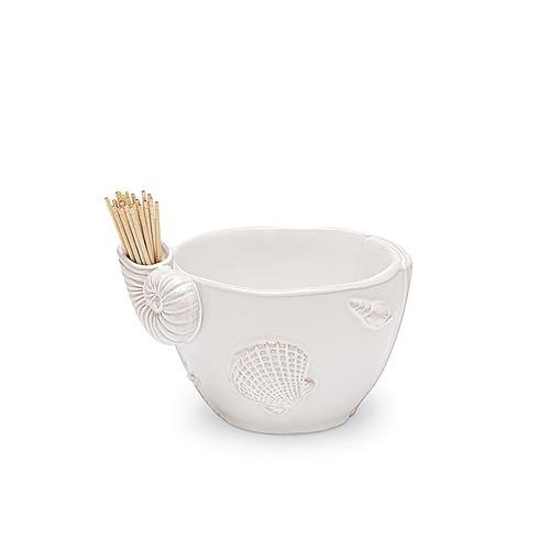 Shell Toothpick Bowl Set