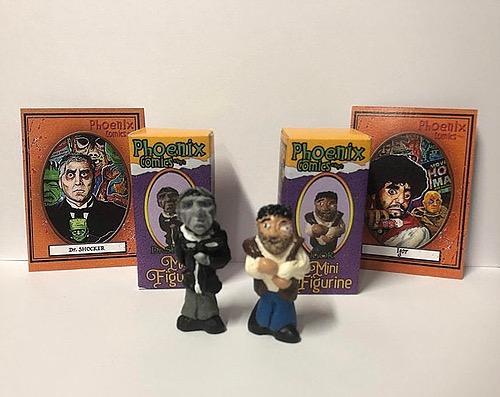Dr. Shocker and Igor from Dr. Shocker's Vault of Horror