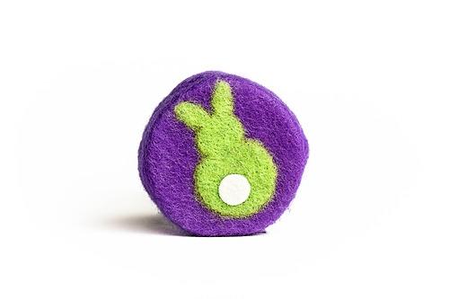 Green Bunny Soap