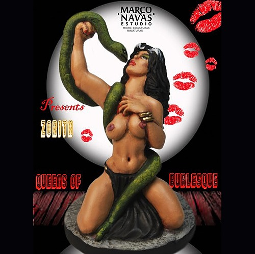 Zorita- Snake Charmer