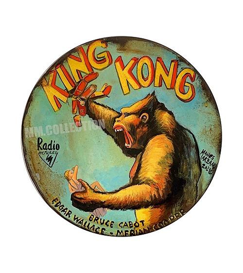 """""""King Kong"""" Tin Sign from Manes Marzano"""