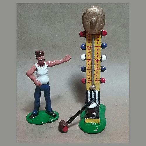 Bell Ringer Carnival Game