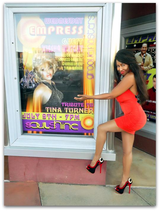 EMPRESS THEATRE, tribute to tina turner kiesha wright soul shine