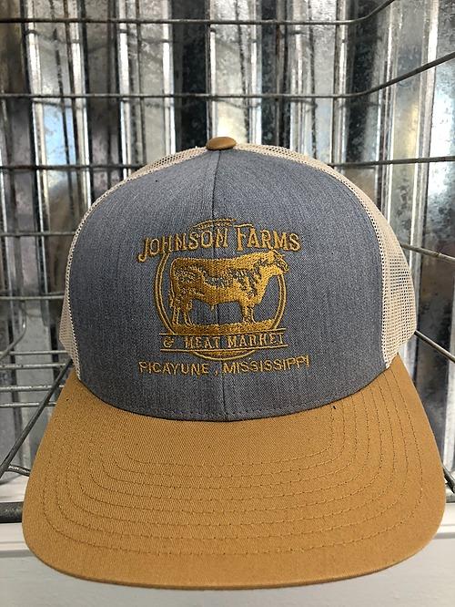 Khaki & Denim Johnson Farms Hat