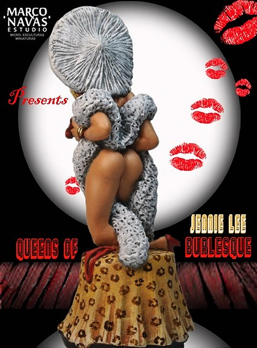 Jennie Lee- Burlesque Dancer