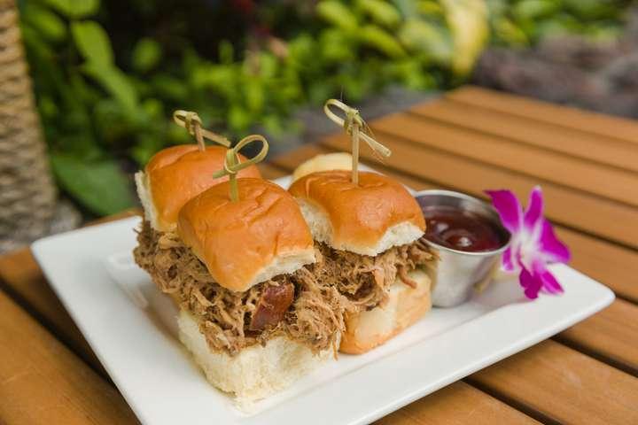 Kalua Pork Sliders $14