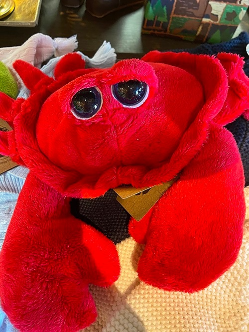 Stuffed Animal Red Crab