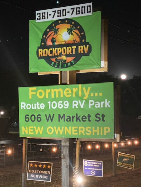 NO RV?  NO PROBLEM!  ASK US ABOUT ONE OF OUR FURNISHED SUITES IN ROCKPORT, TX