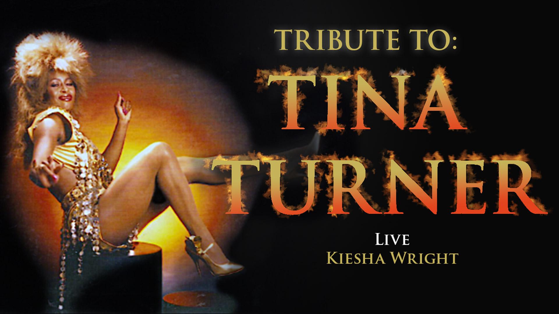KIESHA WRIGHT tribute to tina turner