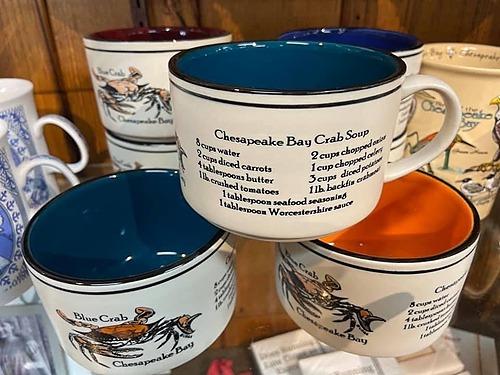 Chesapeake Bay Crab Soup Recipe Soup Bowl