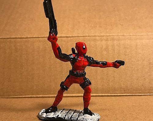 DeadPool comic figure