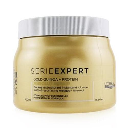 Gold quinoa + protein absolute repair instant resurfacing msque