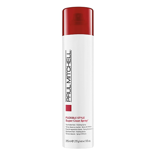 Flexible style super clean spray-touchable hold 9.5oz