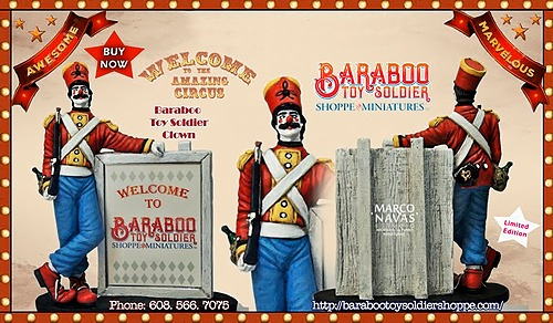 Baraboo Toy Soldier Clown