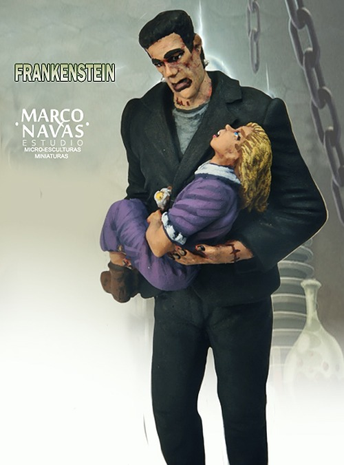 Frankenstein and the flowers of the water