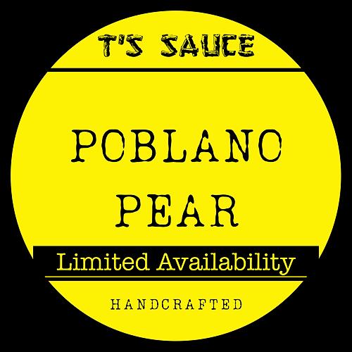 T's Poblano Pear Sauce