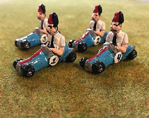 Shriners in Little Cars