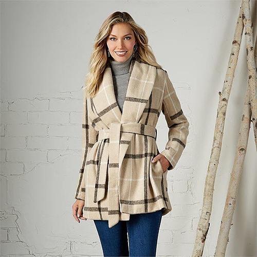 Winchester Plaid Coat