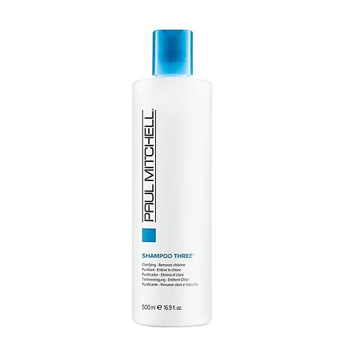 Shampoo three clarifying-removes chlorine 16oz