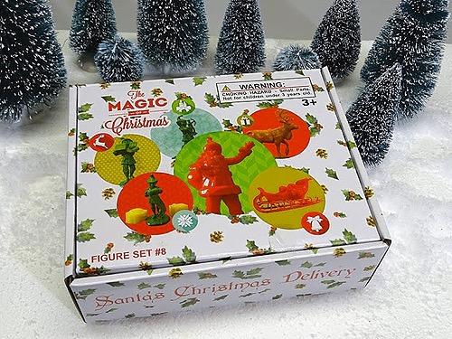"North Pole Santa Christmas Set ""Santa's Delivery"