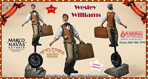 Wesley Williams- Unicyclist and so Much more