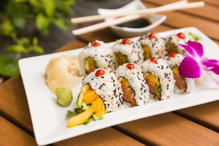 Spicy Tuna Roll $12