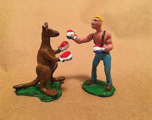 Kangaroo Boxing Set