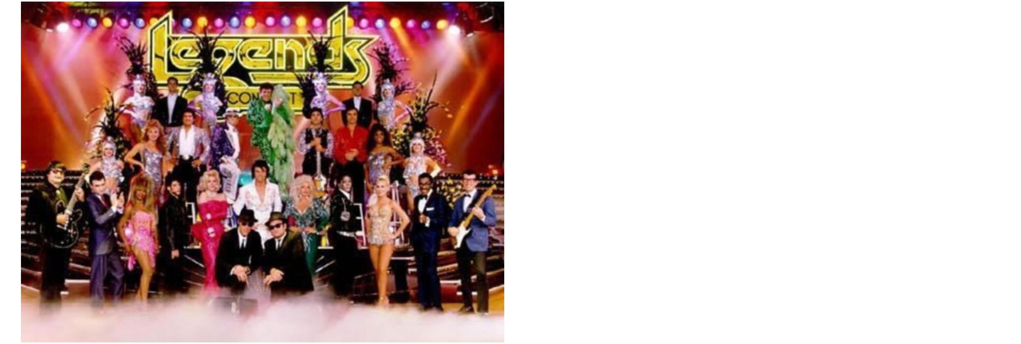 Legends concert Kiesha Wright Tina Turner tribute