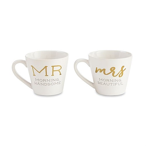 Mr and Mrs Set Of Cup