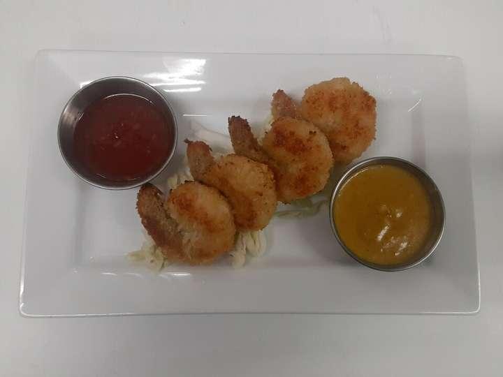 Coconut Shrimp $8