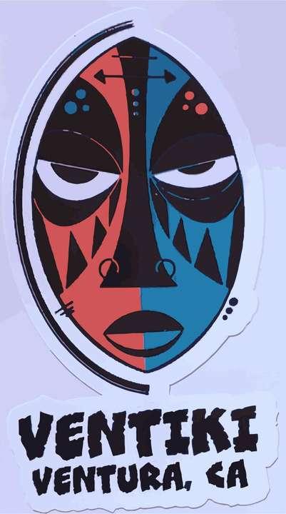 Ventiki Mask Sticker $2