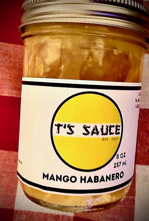 T'S MANGO HABANERO SAUCE