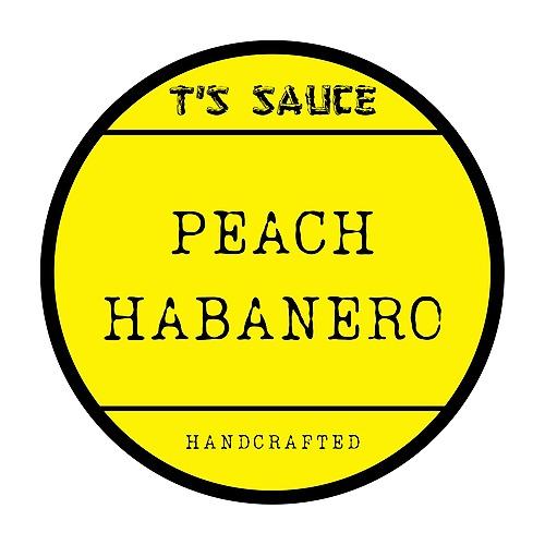 T'S PEACH HABANERO SAUCE