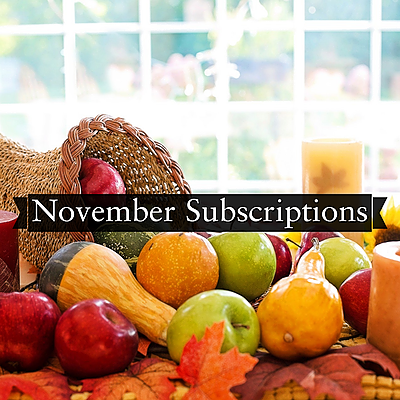 November Subscriptions
