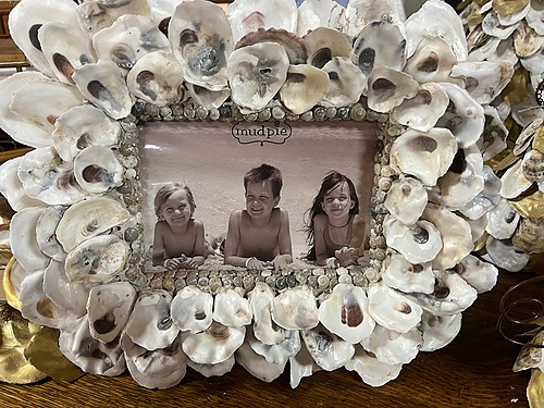 Oysters Picture Frame